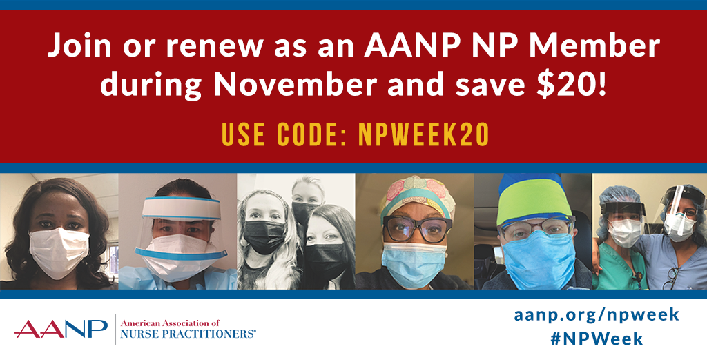 Join AANP or Renew During NP Week