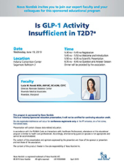 19.2.195 Is GLP-1 Activity Insufficient in T2D?