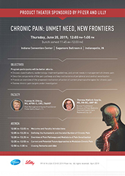 19.3.104 Chronic Pain: Unmet Need, New Frontiers