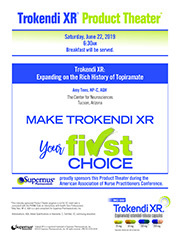 19.5.005 Trokendi XR: Expanding on the Rich History of Topiramate
