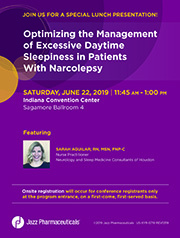 19.5.080 Optimizing the Management of Excessive Daytime Sleepiness and/or Cataplexy in Patients With Narcolepsy