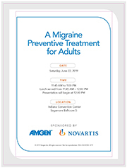 19.5.081 A Migraine Preventive Treatment for Adults