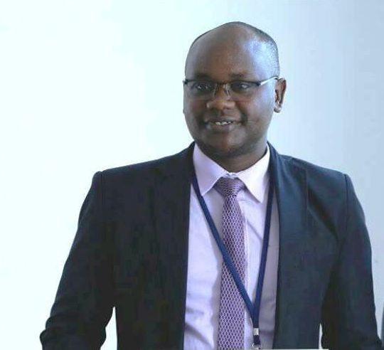 Headshot of Samwel Wainaina Mwangi