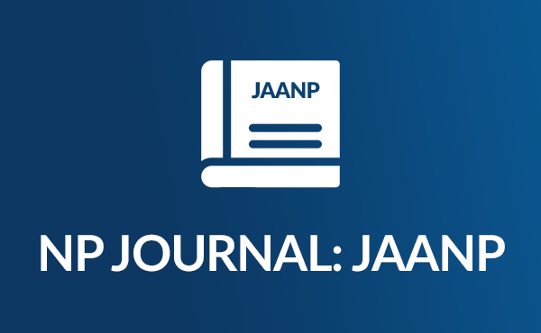 Icon of the NP Journal, a booklet with JAANP across the cover