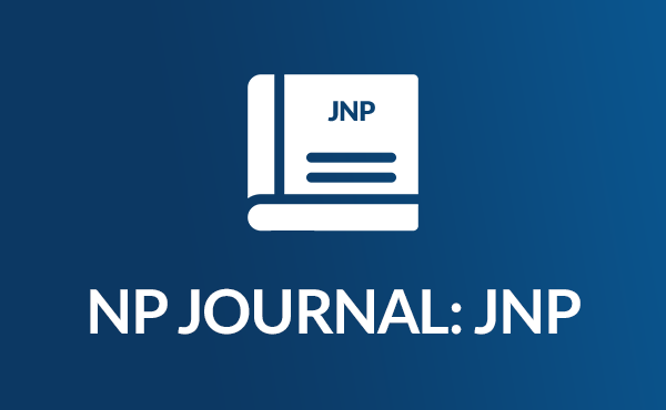 Icon of the NP Journal, a booklet with JNP across the cover
