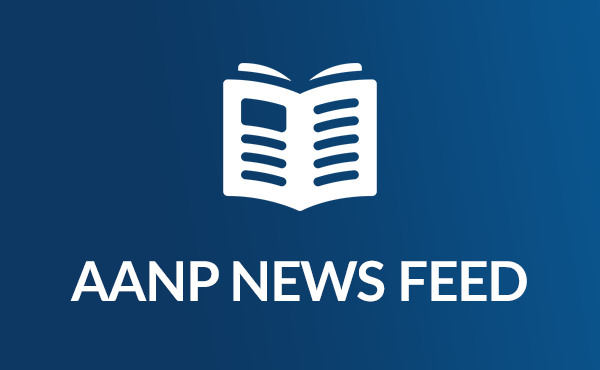 Icon of the AANP News Feed, an open newspaper