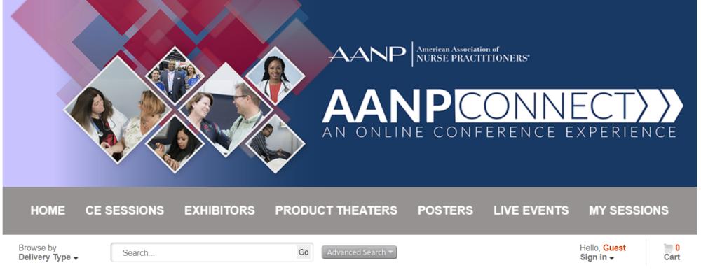 AANPconnect online conference platform